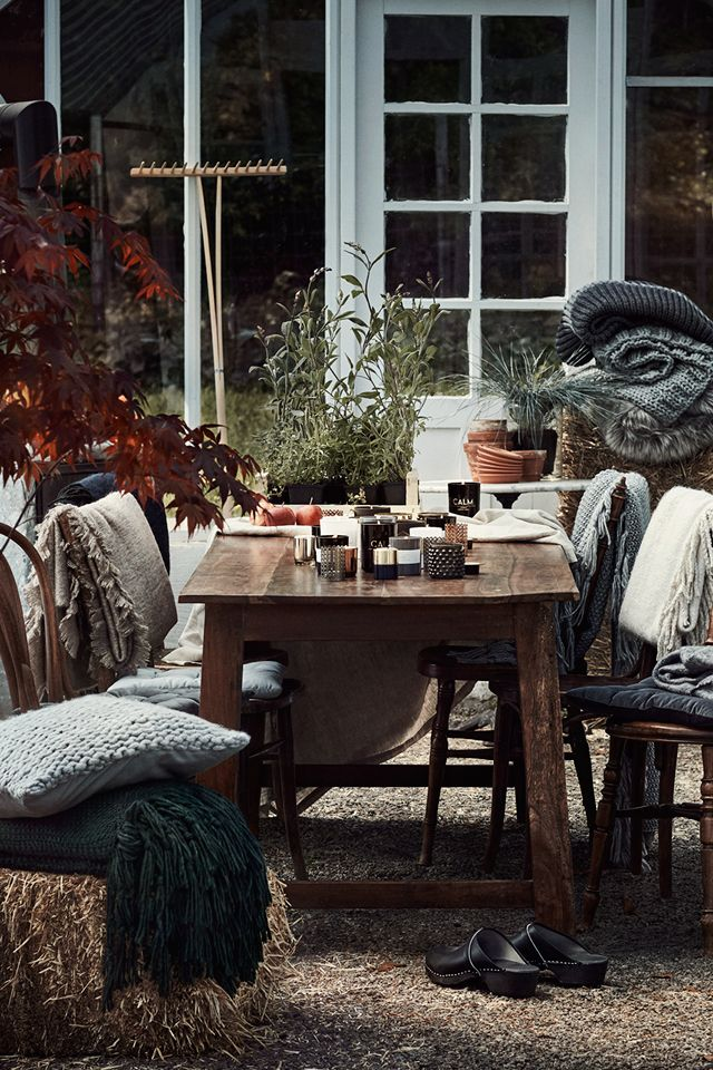 Head to H&M Home for more sumptiously scented candles, lush blankets ...