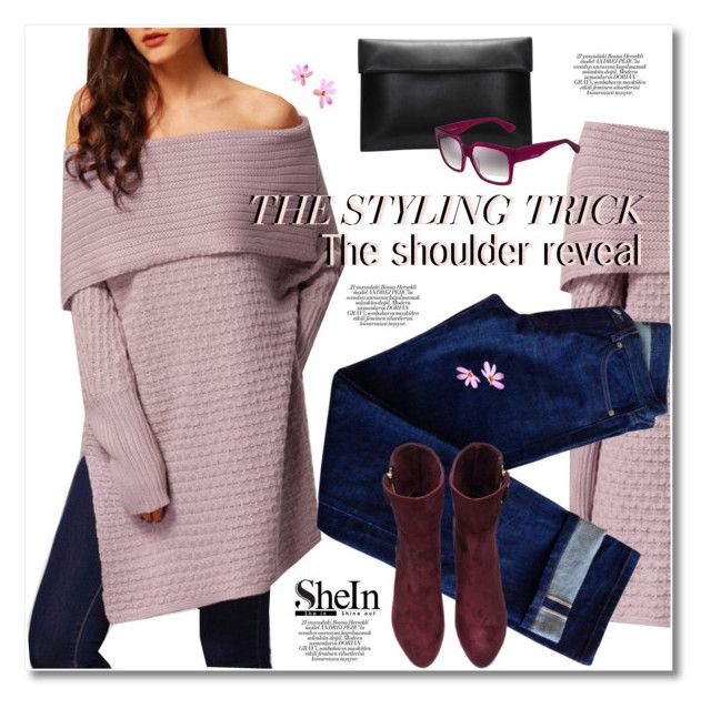 """The shoulder reveal"" by svijetlana ❤ liked on Polyvore featuring A.P.C., Jimmy Choo, women's clothing, women's fashion, women, female, woman, misses, juniors and polyvoreeditorial"