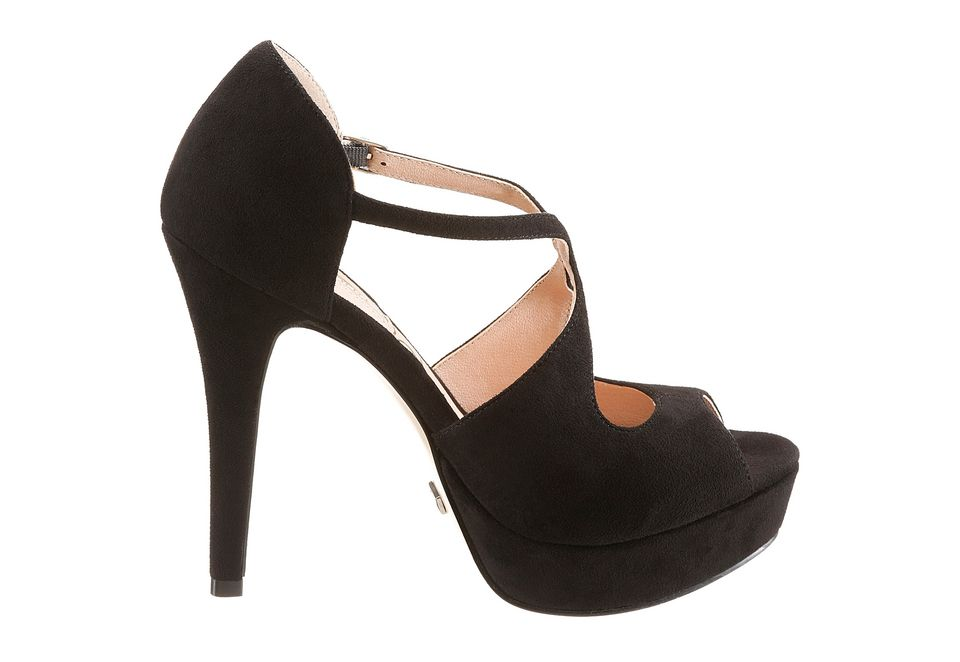 Buffalo Plateau High Heel Sandalette   Heels, High heels, Shoes