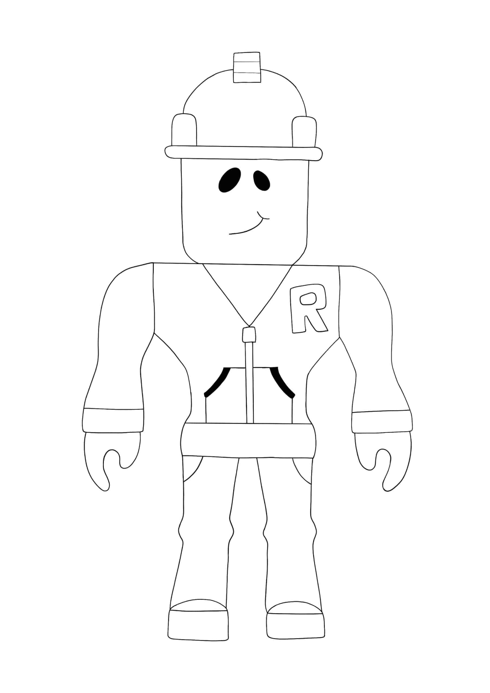 925b96f26c2f3798659654c3ee2105aa » Roblox Builderman Coloring Pages