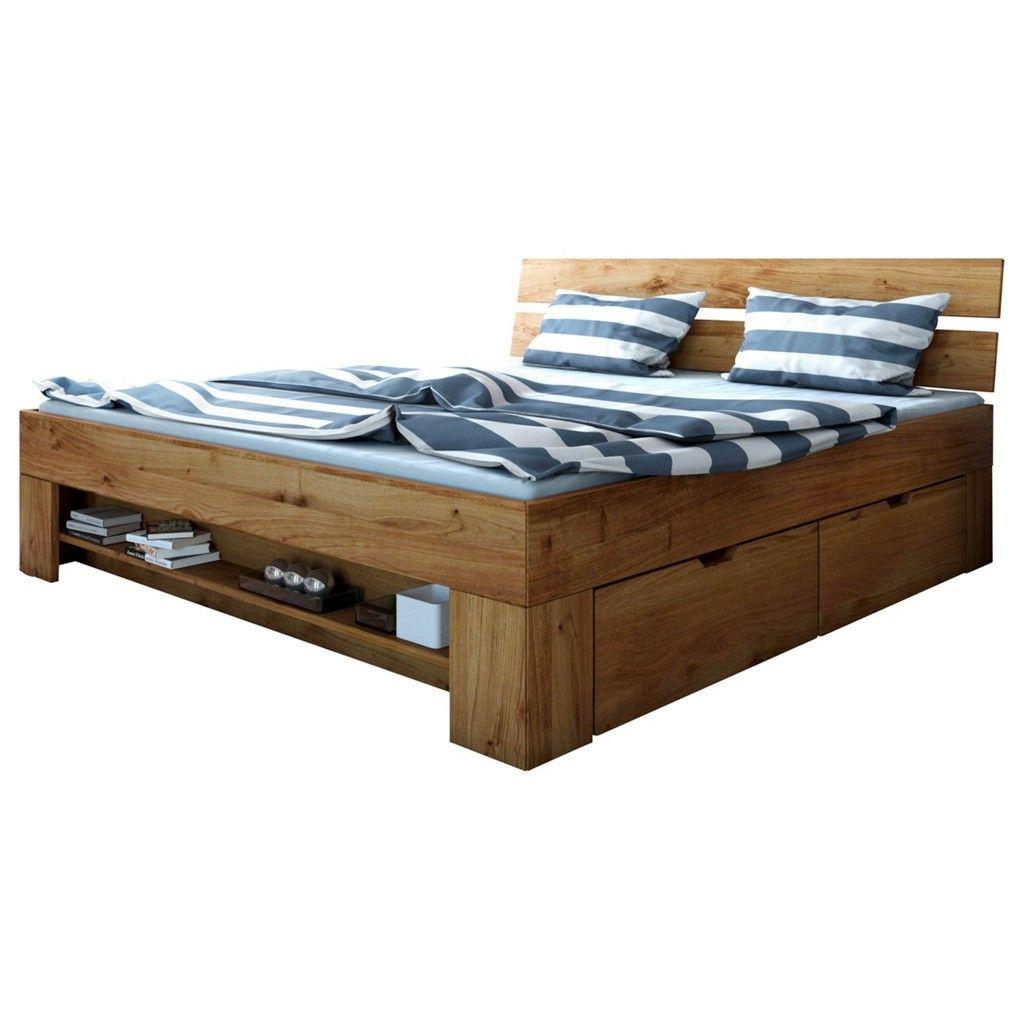 Carryhome Bett Wildeiche Massiv Braun Jetzt Bestellen Unter Https Moebel Ladendirekt De Schlafzimmer Betten Doppelbette Stauraumbett Bett Schlafzimmermöbel