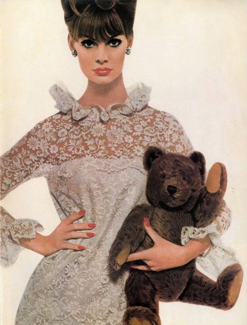 Jean Shrimpton for Revlon.