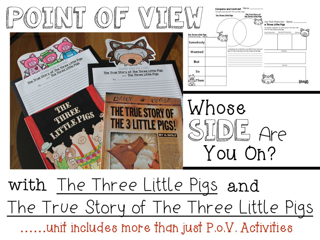 Thethree Little Pigs And The True Story Of The Three