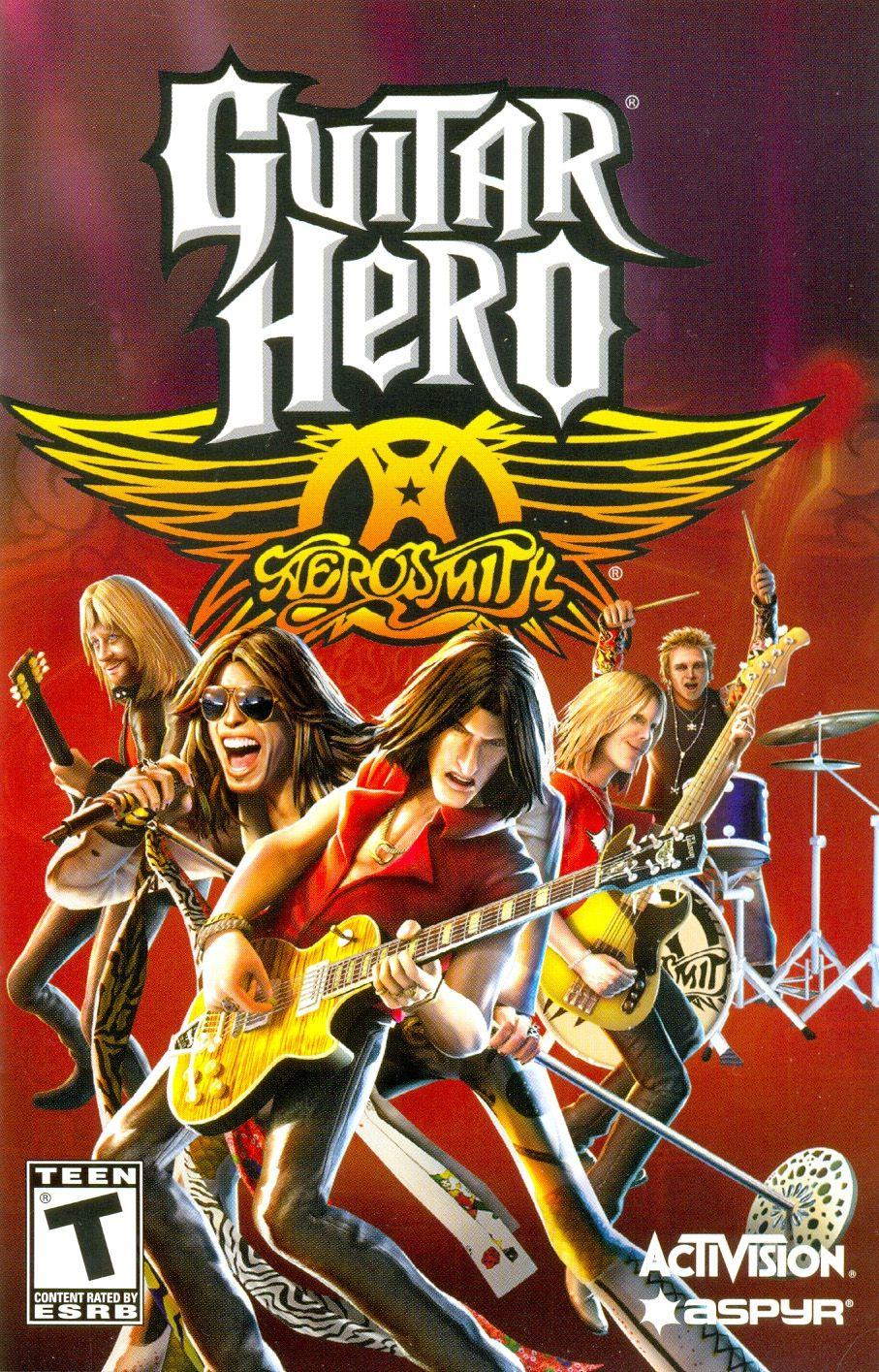 Guitar Hero Aerosmith Guitar hero, Aerosmith, Wii games