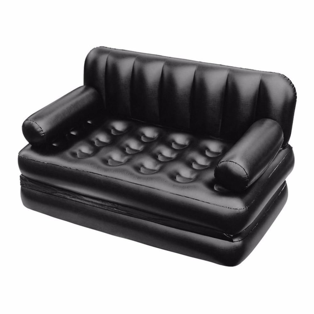 Inflatable Air Sofa Bed Couch In 2020 Inflatable Sofa Bed