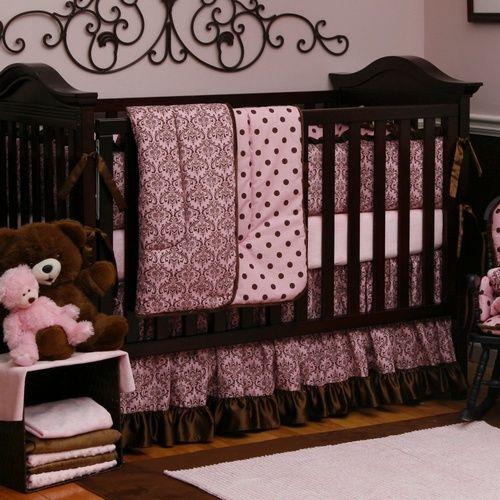 Pin On Shelby, Pretty Baby Crib Bedding