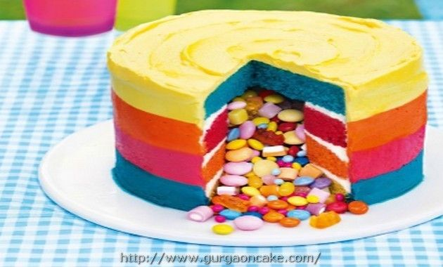 Rainbow Birthday Cake Asda