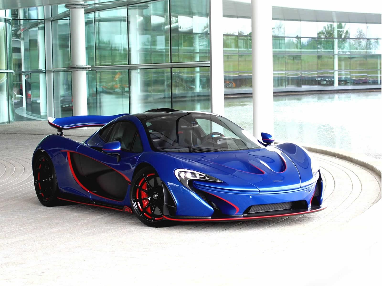 Superior Incroyable Vehicle · Glossy Blue McLaren P1 .