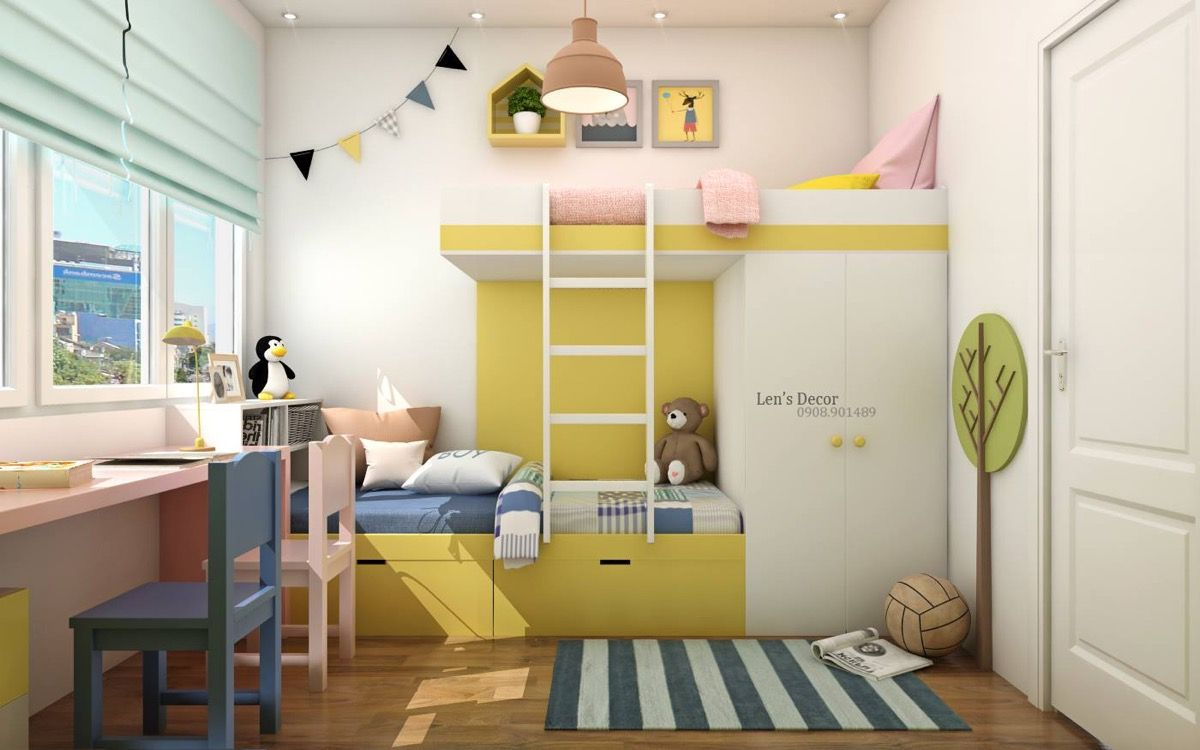 Yellow Kids\' Rooms: How To Use & Combine Bright Decor | Yellow kids ...