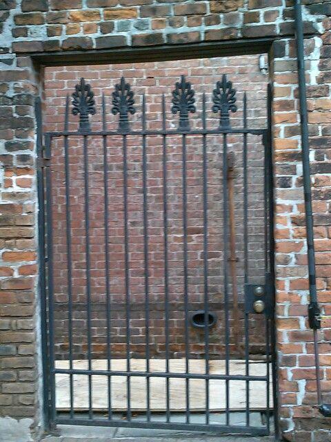 Wrought Iron Gate French Quarter New Orleans Iron Garden