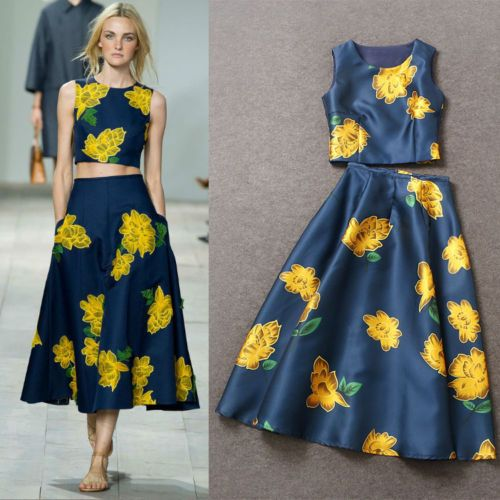 printed tew piece - sewing inspiration