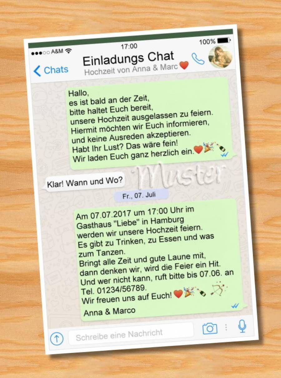 Geburtstagseinladung Per Whatsapp Verschicken 14