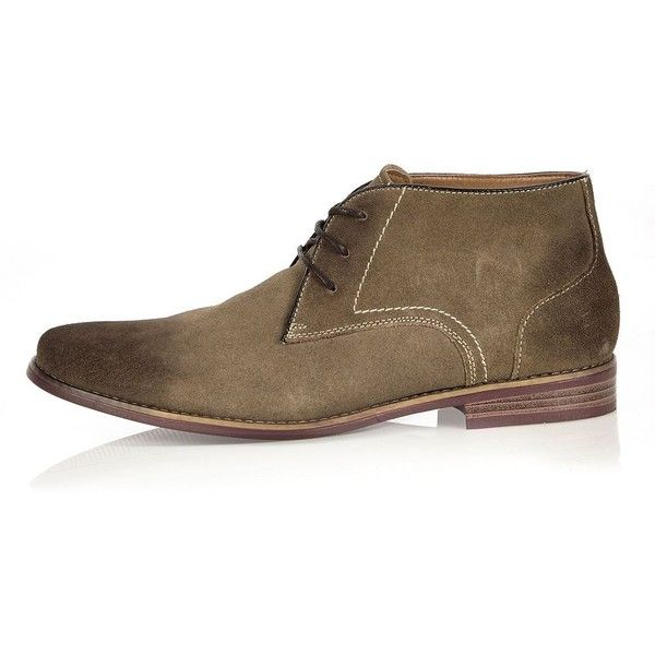 River Island Mens lace up chukka boot 1CS2JM