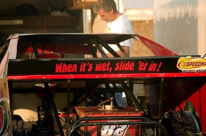 Haha defiantly putting this on my car dirt racing dirt
