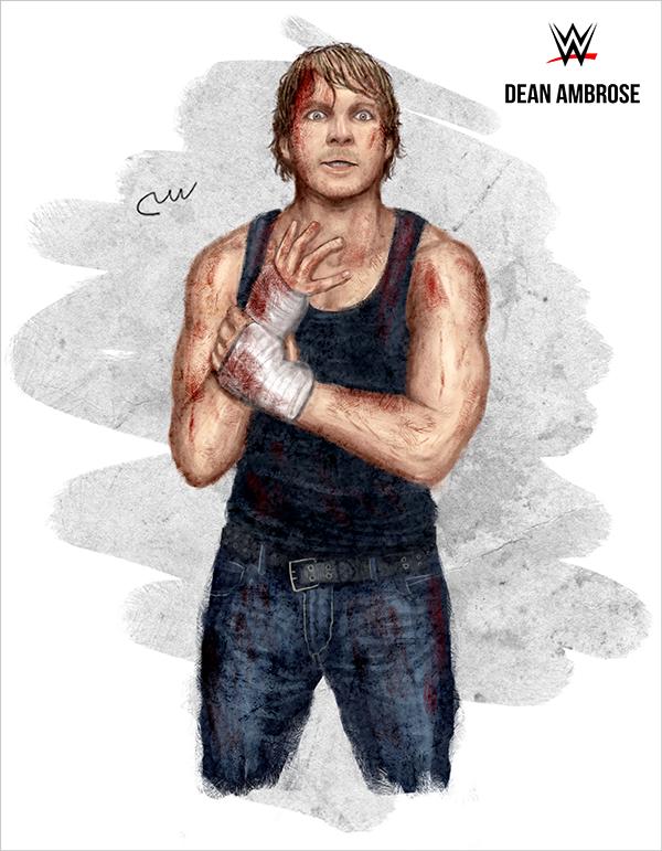 L Homme Que J Aime Dean Ambrose Wwe Dean Ambrose Wrestling Superstars