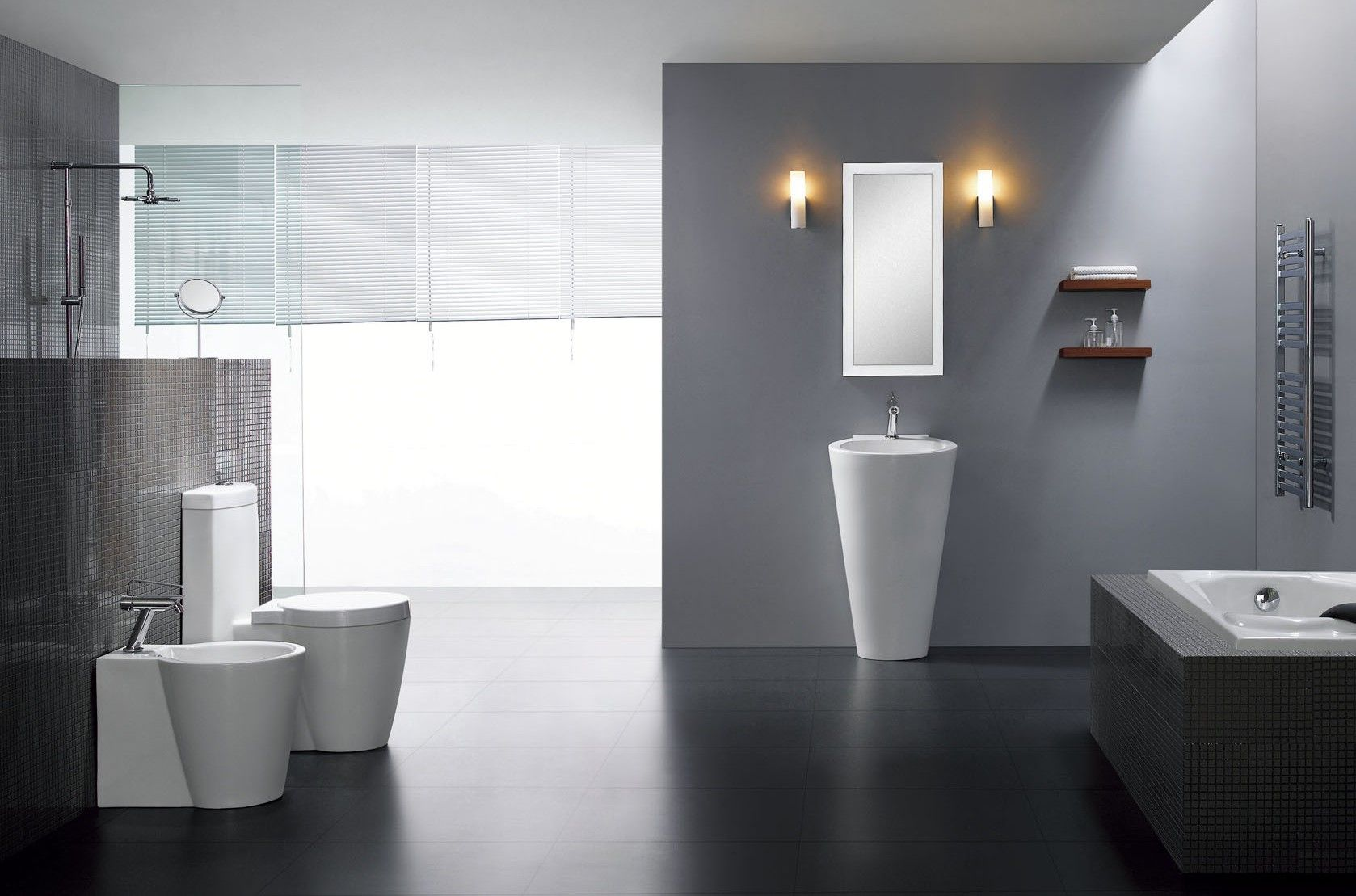 Modern Pedestal Sink - Durazza | For the Home | Pinterest | Pedestal ...