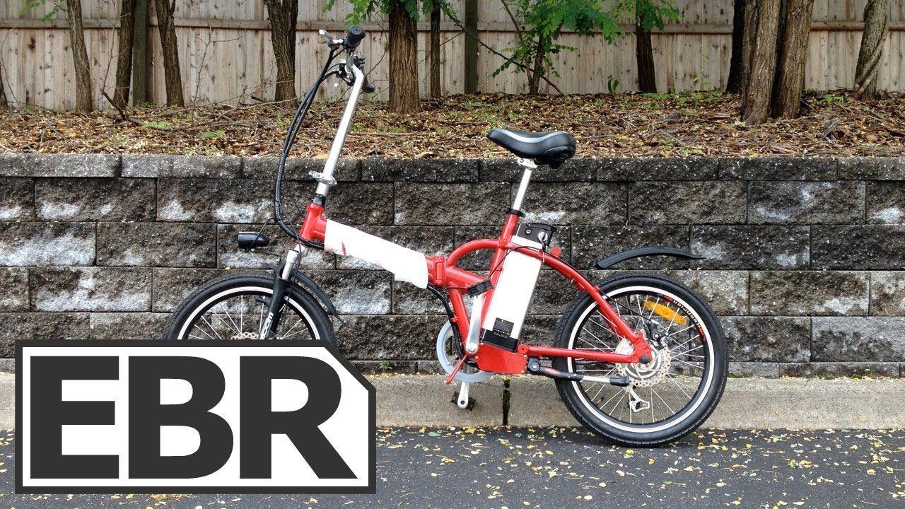 Big Cat Hampton Folding Electric Bike Video Review