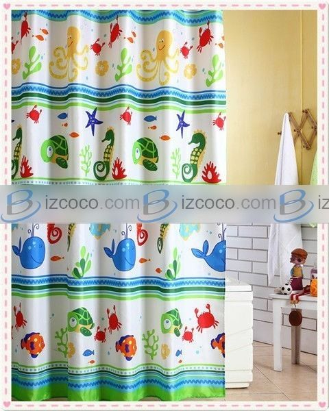 Kids Shower Curtains Curtain For China Price