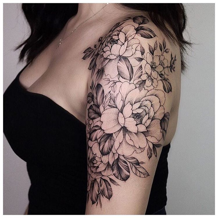 Floral Half Sleeve By Pink Ink Created Chronicink Findyourway Workproud Wear Floral Tattoo Sleeve Tattoo Sleeve Designs Tattoos For Women Half Sleeve
