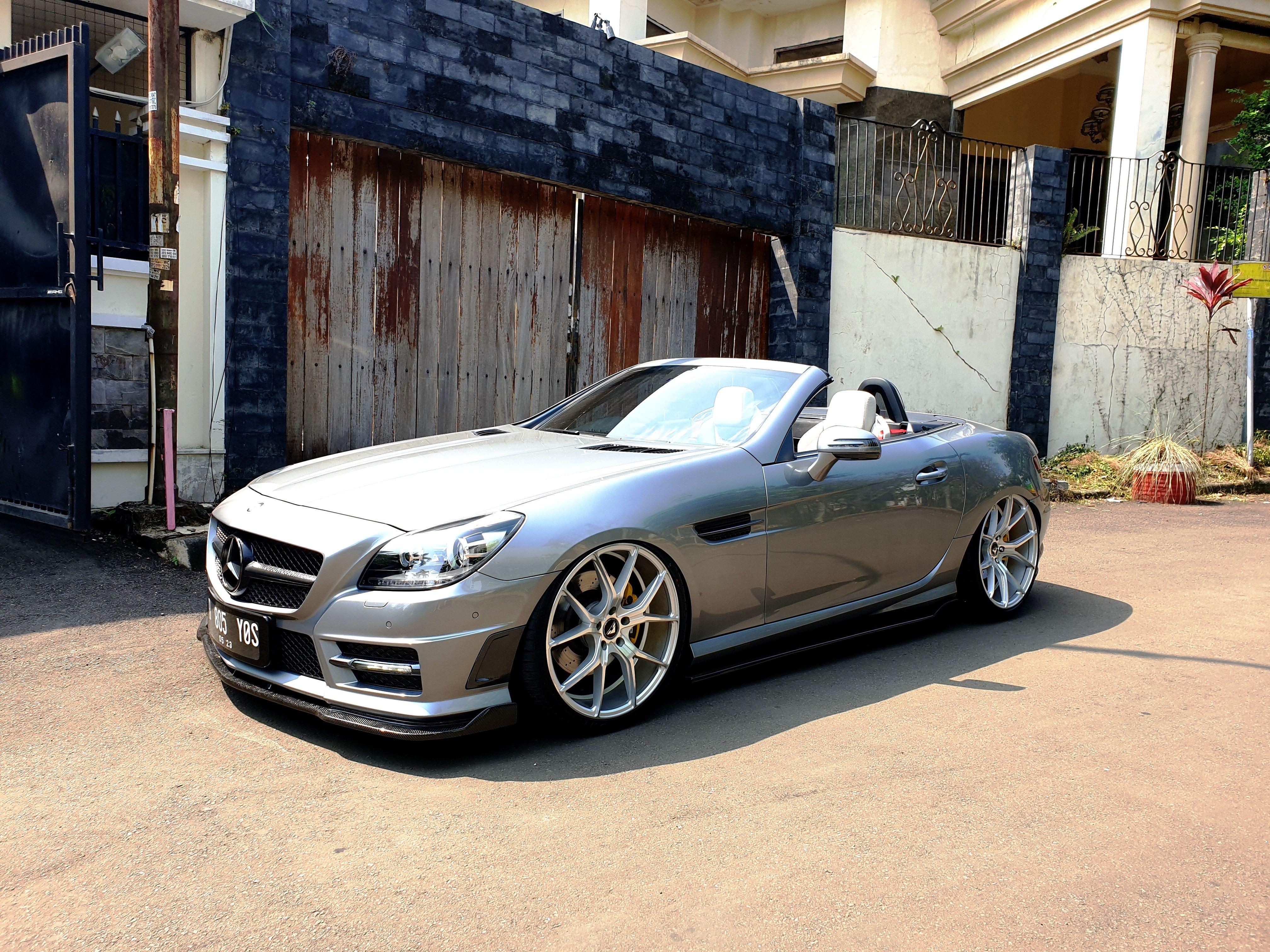 Bagged Slk R172 Indonesia Mercedes Benz Stance
