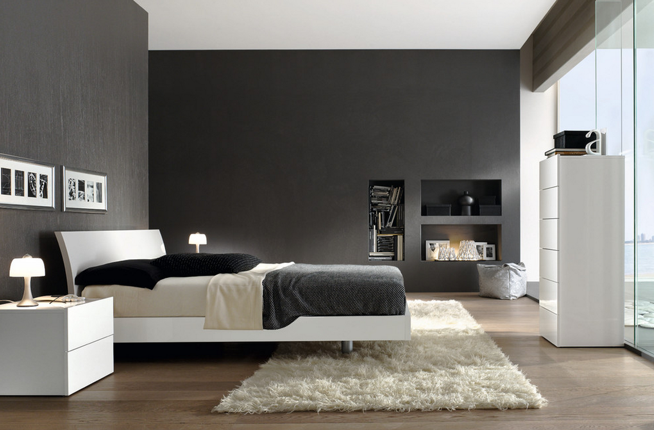 19 divine minimalist bedrooms that abound with serenity. Black Bedroom Furniture Sets. Home Design Ideas