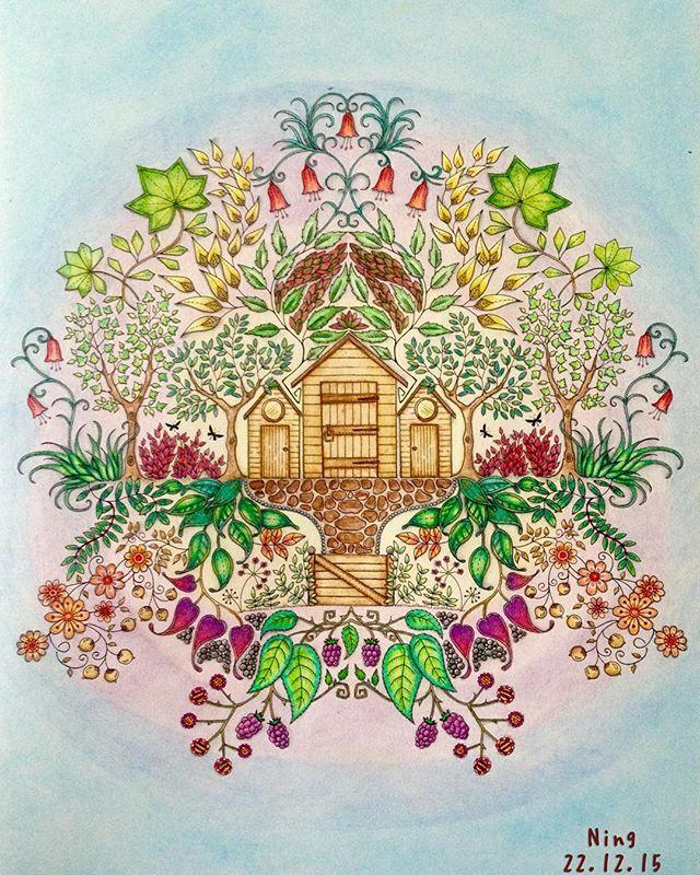 Johannabasford Secretgarden Coloringbook Adultcoloringbook Coloring Colouring Colouringbook Majesticcoloring