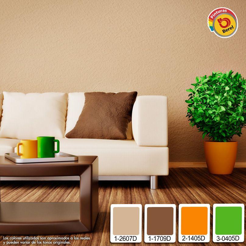Colores neutros para tu sala pinturas berel pinterest - Colores de pintura para interiores ...