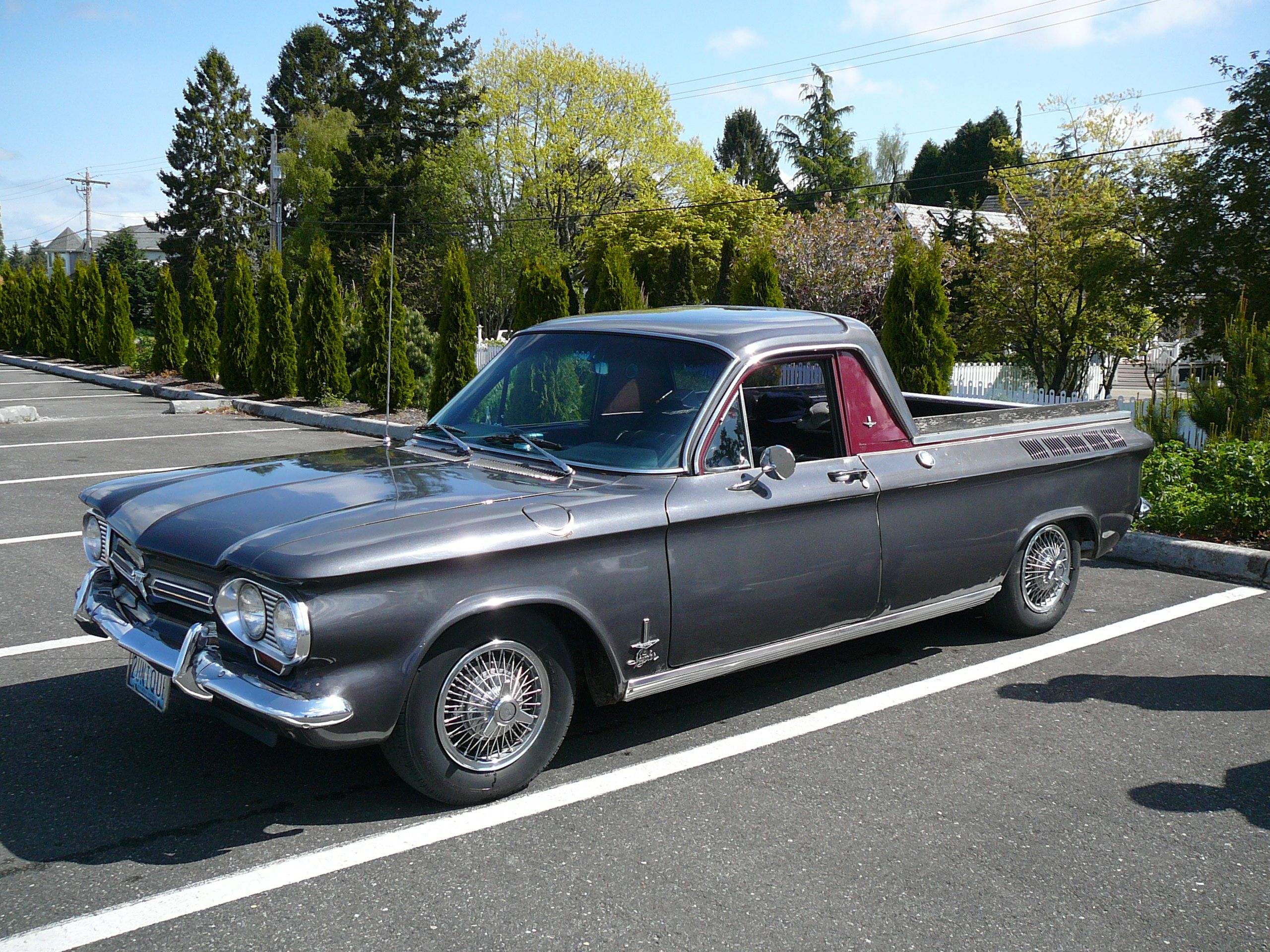 Corvair Conversion To Look Like A El Camino Or Corvairino Chevy