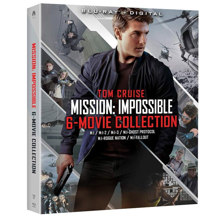 Mission: Impossible – 6 Movie Collection Blu-ray $33.83