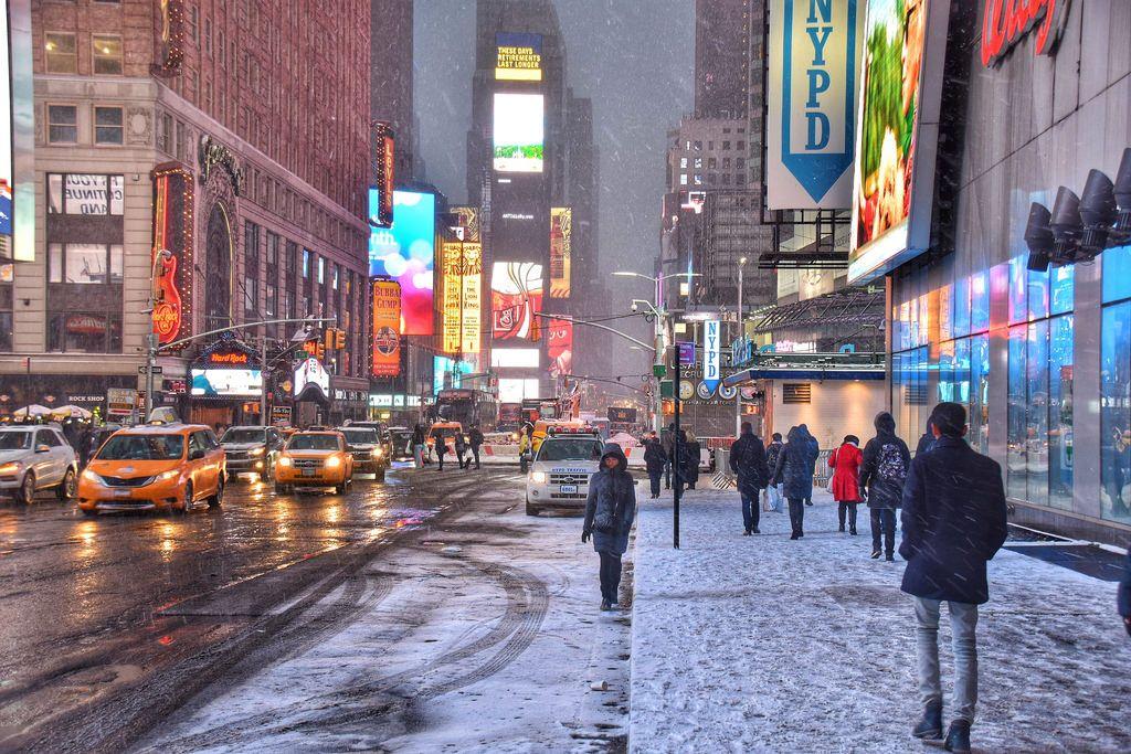 Mine - New York City - Snow - February 2016
