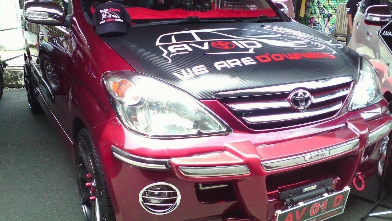 Modifikasi Mobil Avanza Tahun 2004 Modifikasi Mobil Mobil Toyota