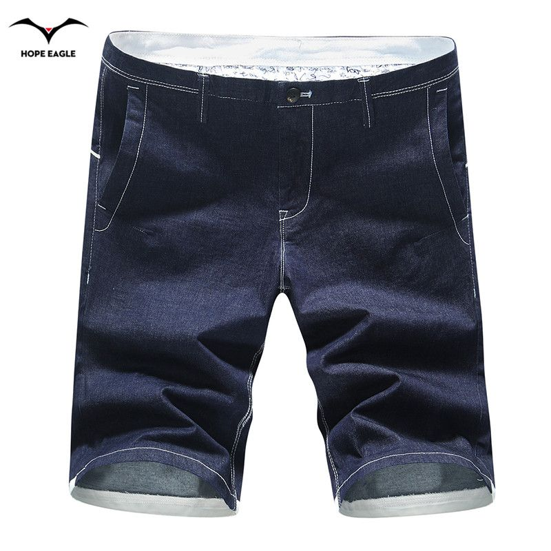 98fb648b Click to Buy << Top 2017 Brand jeans shorts new summer men Shorts Casual  high quality tide shorts Hot Sale cotton plus size men trousers #Affiliate