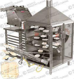besco grandemax flour tortilla machine tortilla machine