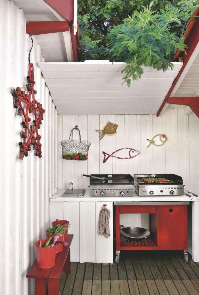 Le Poisson Cest Tendance Poissons Cuisine Exterieur Et Mur - Cuisine cote maison pour idees de deco de cuisine