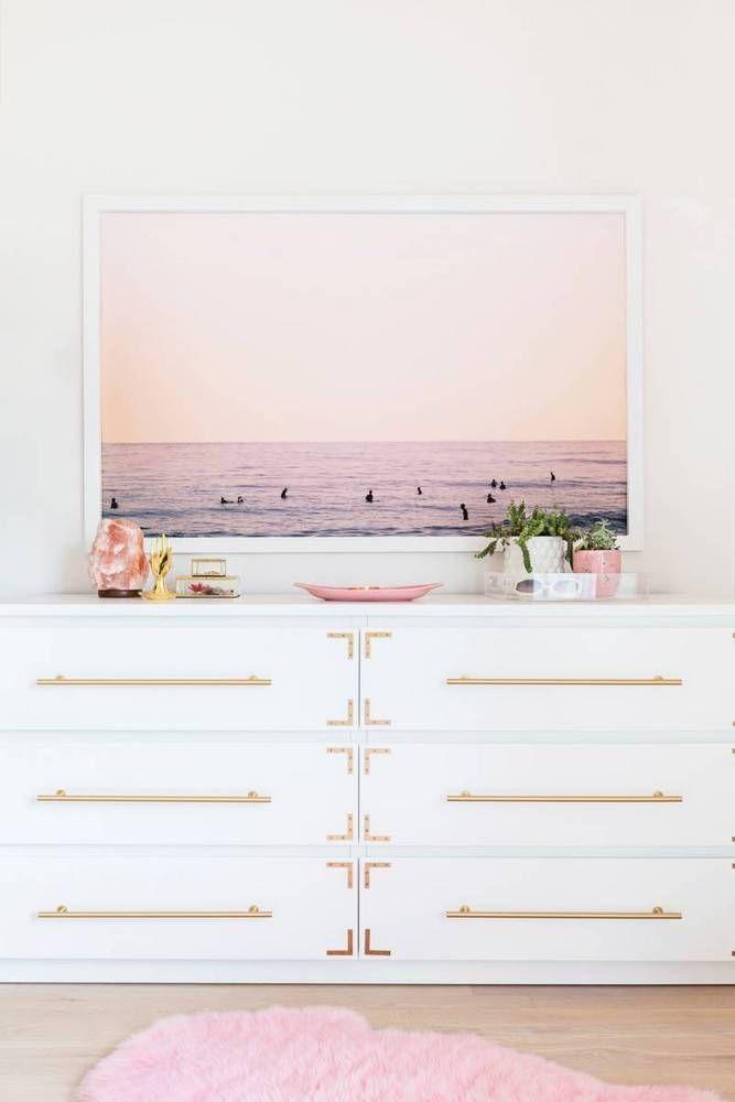 Elsie Larson S Nashville Home Gold Bedroom Rose Gold Bedroom
