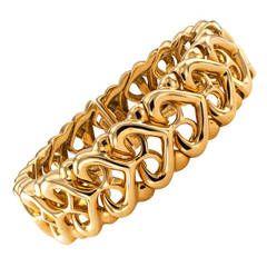 Bulgari Gold Cuff Bracelet $5750