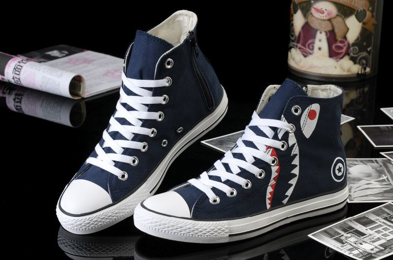 geweldige aanbiedingen sneakers voor goedkoop topmerken converse Newest Converse Bait Movie Painting All Star Chucks ...