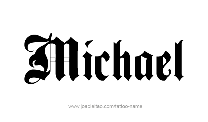 Michael Angel Name Tattoo Designs Name Tattoo Designs Name Tattoos Name Tattoo