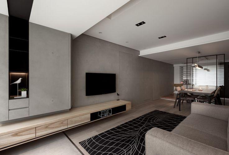 Rack planejado | Living Areas | Pinterest | Living rooms, Tv walls ...