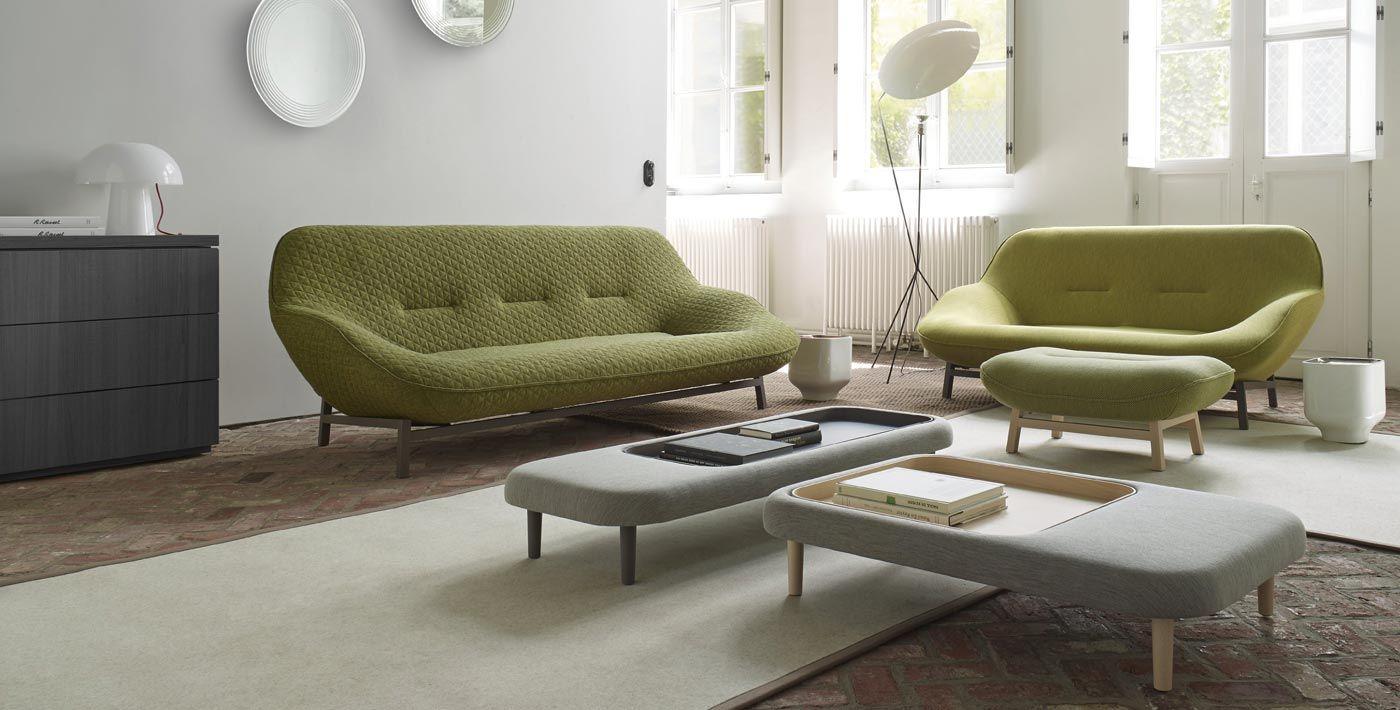 Ensemble de canapés Cosse de Cinna pour sublimer à merveille votre salon