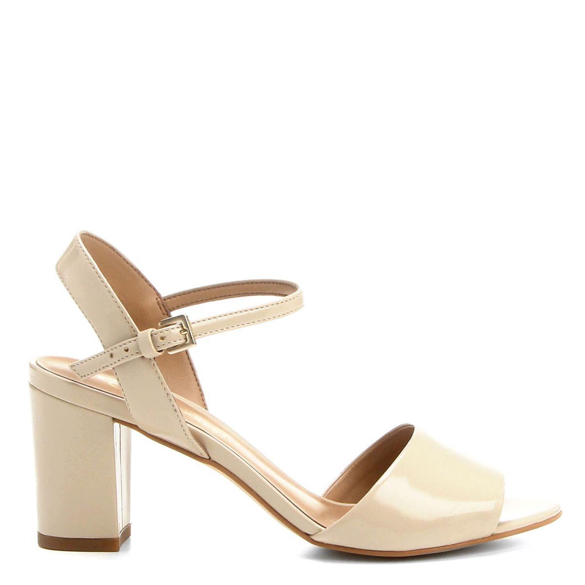 6e03bf9a0b Compre Sandália Capodarte Salto Grosso Nude na Zattini a nova loja de moda  online da Netshoes
