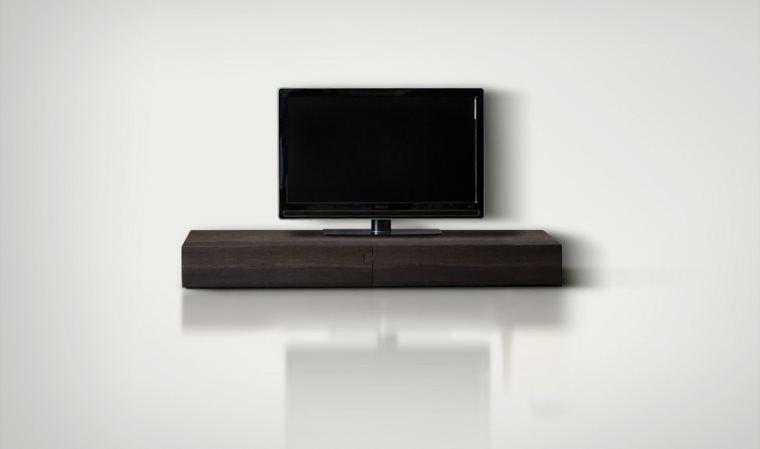 Stupefiant Meuble Tv Design De La Sublime Collection Hifi Ce Meuble Tv Moderne De Couleur Chene Fonc Mobilier De Salon Meuble Tv Design Mobilier