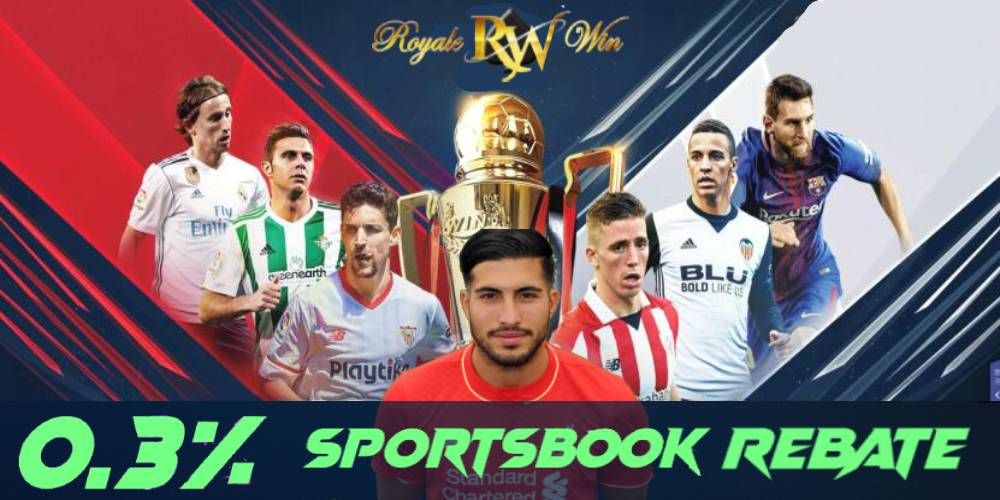 Bet on your favourite team by enjoy our sportsbook rebate
