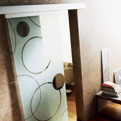 porte seule en verre d poli contemporaine 83 cm. Black Bedroom Furniture Sets. Home Design Ideas