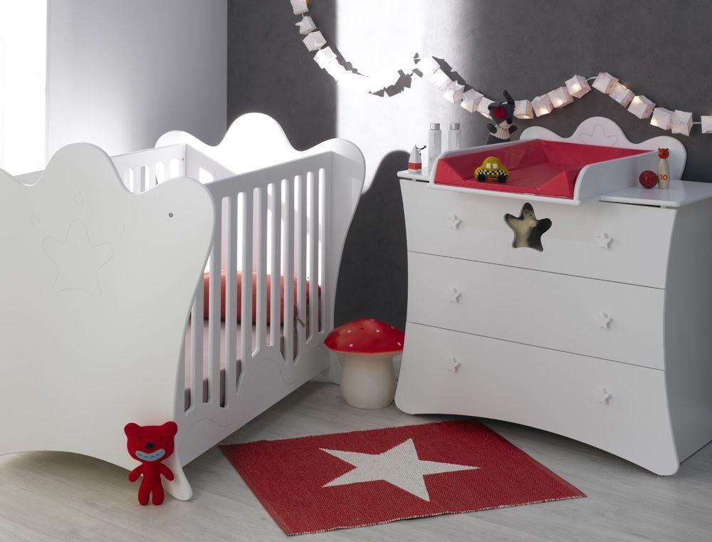 Petite chambre bébé King blanc | Lights