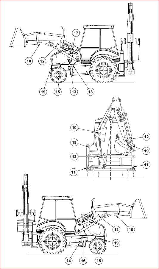 Case 580sr Super R 590sr Super R 695sr Super R Backhoe Loader Operators Manual Backhoe Loader Backhoe Manual