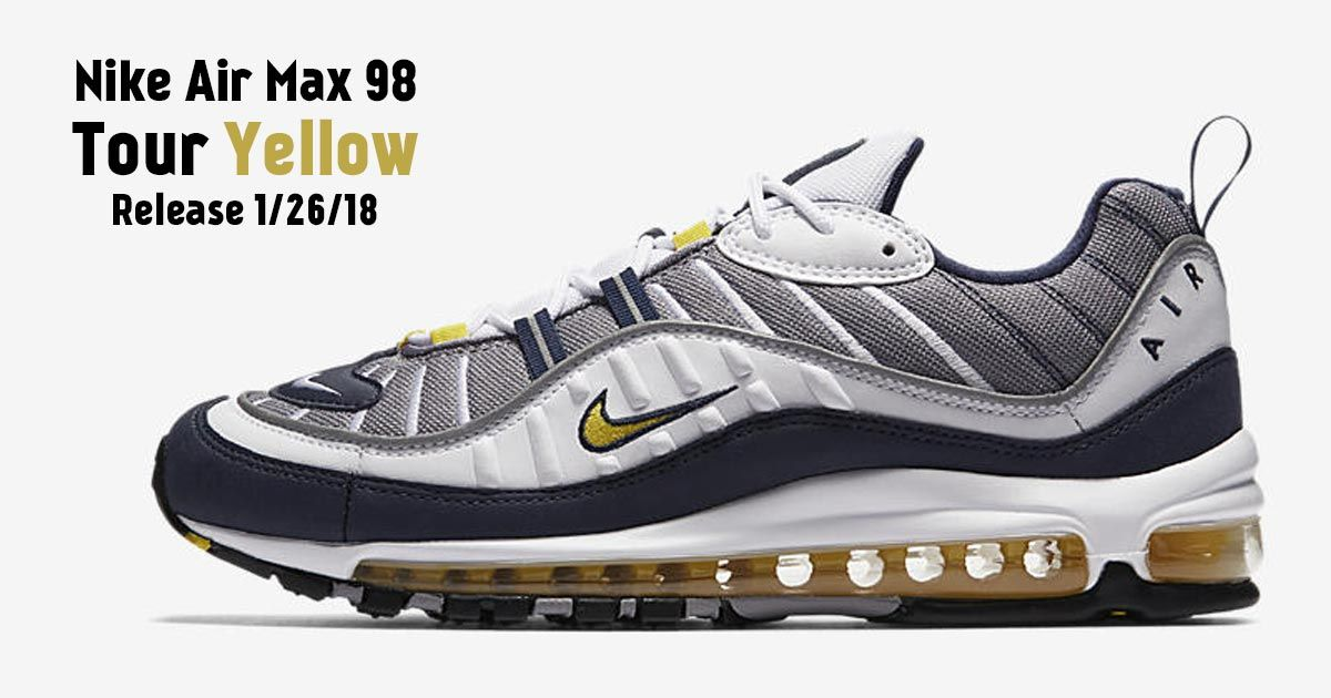 Nike Air Max 98 giallo