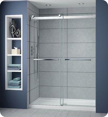 Fleurco Np160 11 40 Gemini Plus Frameless Byp 60 Sliding Shower Doors With Hardware