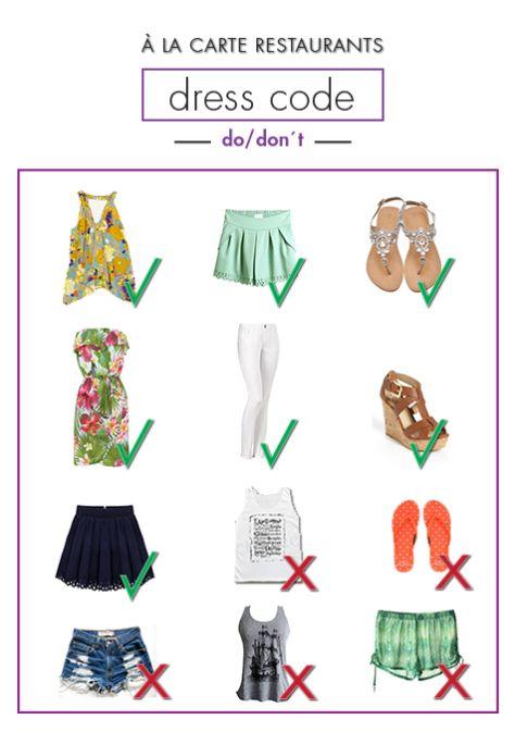 Dress Code For A La Carte Restaurants