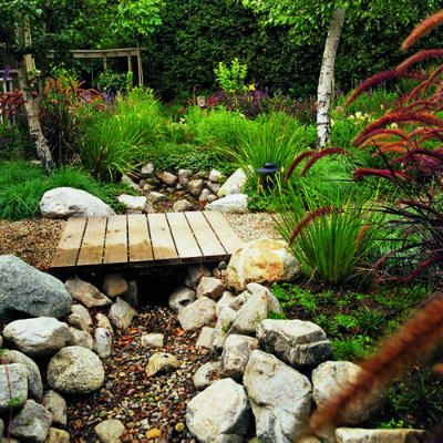 Garden Design Dry River Bed beverly hills untamed garden | dry creek bed, dry creek and front